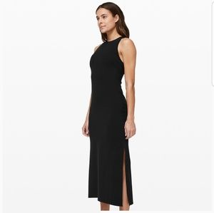 LULULEMON Get Going Dress New with tags Black